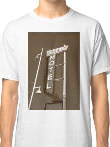 Route 66 - Aztec Motel Classic T-Shirt