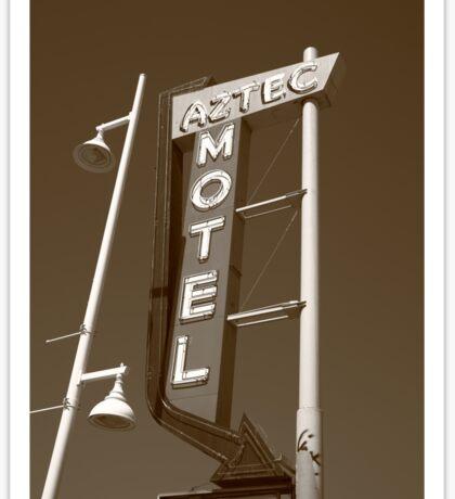 Route 66 - Aztec Motel Sticker
