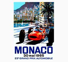 """MONACO GRAND PRIX"" Vintage Auto Racing Print Unisex T-Shirt"