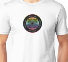 Infinite love wheel #1 Unisex T-Shirt