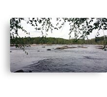 Summer Time on the James River Canvas Print
