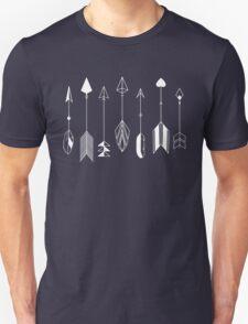Be Brave Little Arrow (White)  Unisex T-Shirt