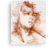 Shanti (detail) Canvas Print