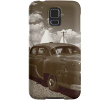 Route 66 - Wigwam Motel and Classic Car Samsung Galaxy Case/Skin