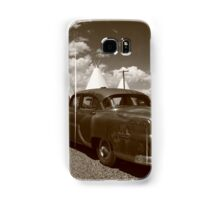 Route 66 - Wigwam Motel and Classic Car Samsung Galaxy Case/Skin