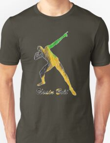 Usain Bolt Jamaica Man Design Unisex T-Shirt