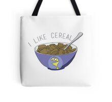 I LIKE CEREAL Tote Bag