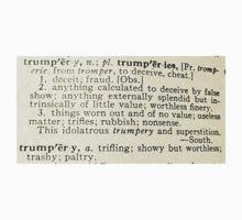 Trumpery Definition Kids Tee