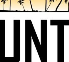 Punta Cana Sunset Sticker