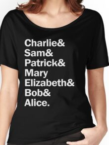 The perks of being a wallflower gang Women's Relaxed Fit T-Shirt
