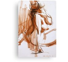 Voluptuous Figure Canvas Print