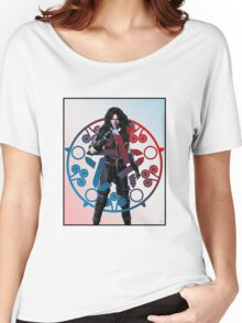 Yennefer of Vengerberg and her absidian star. Women's Relaxed Fit T-Shirt