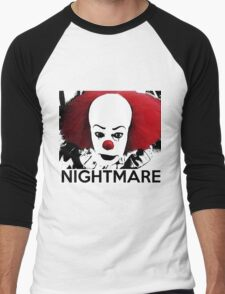 Pennywise - Your Worst Nightmare Men's Baseball ¾ T-Shirt