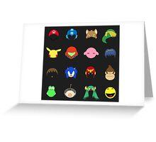 Simple Smash Bros! Greeting Card