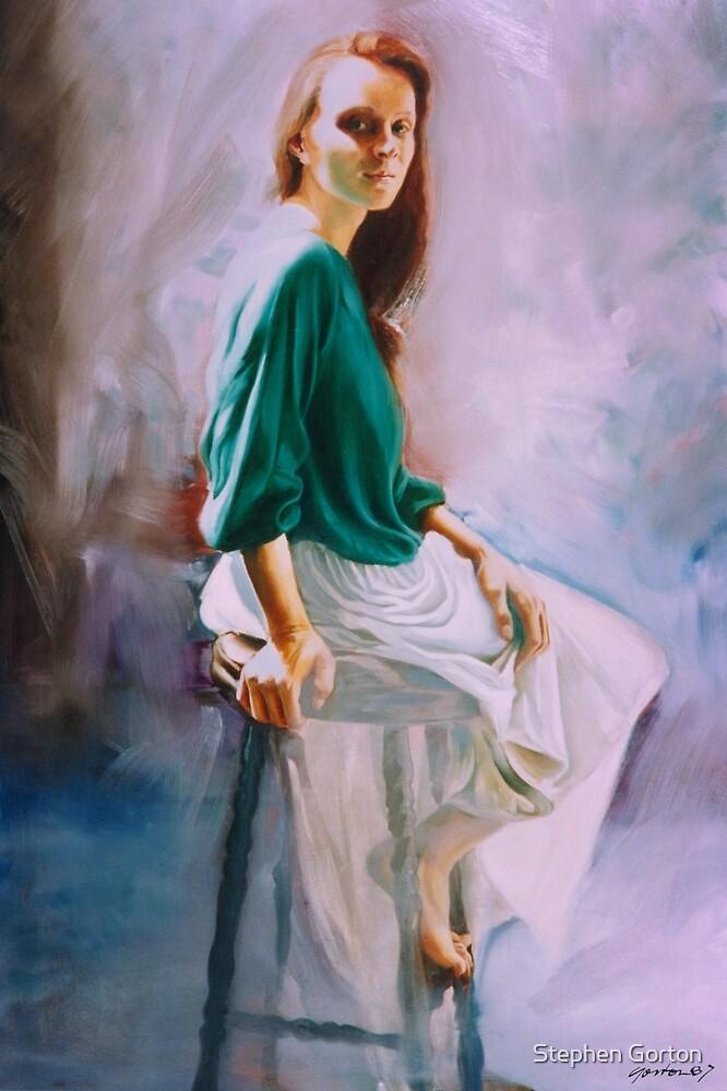 Janine in Sunlight by Stephen Gorton