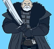 Lieutenant Commander Mormont by JhallComics