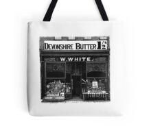 W. White Tote Bag