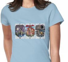 Tarot Cards Womens Fitted T-Shirt