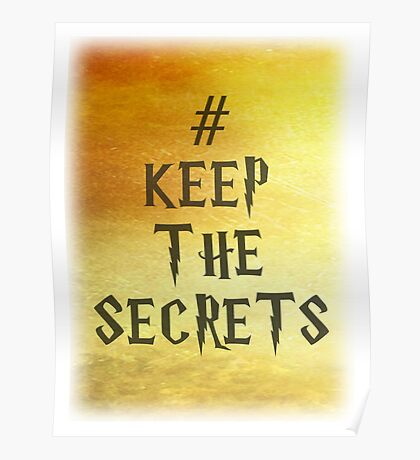 Keep the Secrets Poster