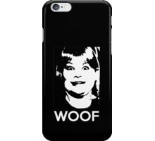 Buzz Your Girlfriend - WOOF! iPhone Case/Skin