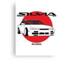 Nissan Silvia S14 Kouki Canvas Print
