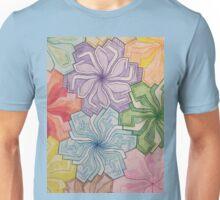 Symmetry flowers Unisex T-Shirt