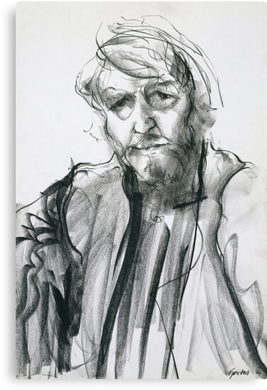 David Boyd (Black Pastel) by Stephen Gorton