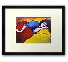 Annie Waking Framed Print