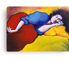 Annie Waking Canvas Print