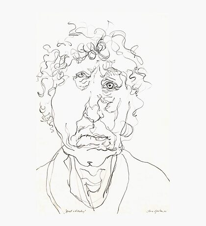 Brett Whiteley Sketch Photographic Print