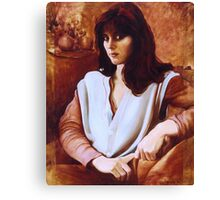 Portrait of the Bride - Maria de Casa Anita Canvas Print