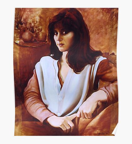 Portrait of the Bride - Maria de Casa Anita Poster