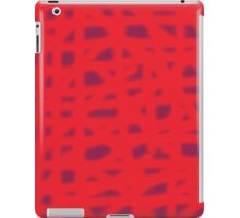 Red design iPad Case/Skin