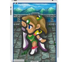 Rosa White Wizard iPad Case/Skin