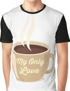 Love Coffee Graphic T-Shirt