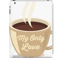 Love Coffee iPad Case/Skin