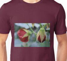Red Budding Flower Unisex T-Shirt