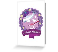 Always Koffing Greeting Card