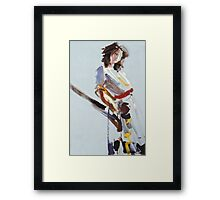 A Fleeting Moment Framed Print