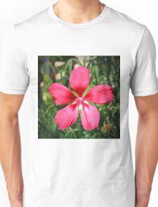 Scarlet Swamp Hibiscus  Unisex T-Shirt