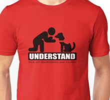 UNDERSTAND not all disibilities are visible (service dog) Unisex T-Shirt
