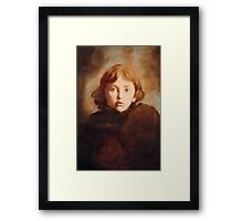 Girl in Venice Framed Print