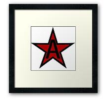A is for Anarchy Framed Print