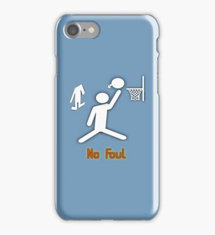 No Foul - basketball iPhone Case/Skin