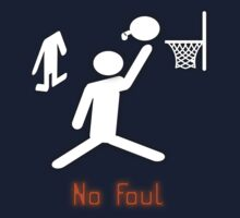 No Foul - basketball by pokingstick
