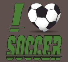 I love soccer by pokingstick