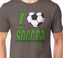 I love soccer Unisex T-Shirt