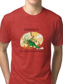 Peridot (clodicus maximus) Tri-blend T-Shirt