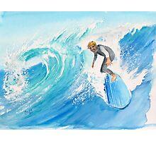 Catch a wave... Noah Photographic Print