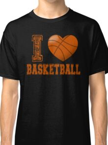 I love basketball Classic T-Shirt
